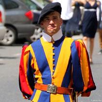 Soldat der päpstlichen Schweizergarde