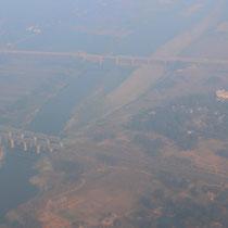 Flug nach Varanasi
