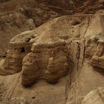 Israel - Höhlen von Qumran