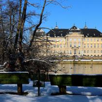 Schloss Werneck im Winter 1