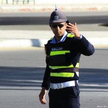 Jordanischer Polizist