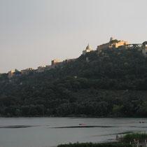 Albaner See mit Castel Gandolfo