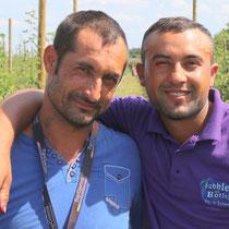 Florin und Attila aus Rumänien