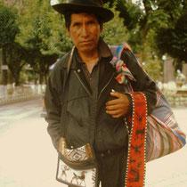 Aymara-Händler aus Bolivien
