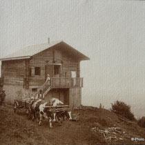 Le chalet Molly au bord de l'ancien chemin La Thuile -Les Convers