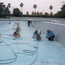 施工実績:東武スーパープール(流れるプール)改修工事