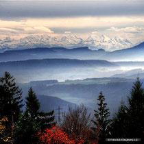 Aussicht von Bergalingen,  Foto: Joachim Hartbaum