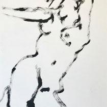 Tusche auf Papier 4   30x42cm