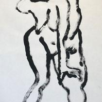 Tusche auf Papier 2   30x42cm