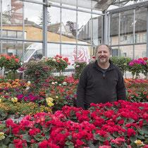 """Teilnehmer der Aktion """"Überlinger Gassen blühen auf"""" Gärtnerei Widmer: Andreas Widmer"""