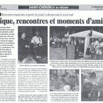 Les Vinyls - Le Républicain - 26 Juin 2003