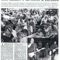 Les Vinyls - Reuma - 19 Juillet 2004