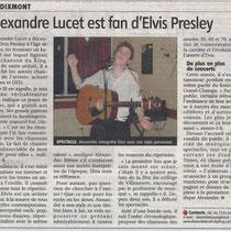 Alexandre Lucet - L'Yonne Républicaine - 11 Août 2011