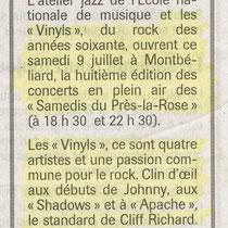 Les Vinyls - Près la Rose - Montbéliard - 2005