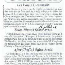 Les Vinyls - Reumaux - 16 Juillet 2004
