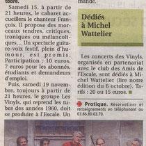 L'Yonne Républicaine - 8 Octobre 2011