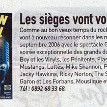 Les Vinyls - Génération Rock'n'roll - Olympia 2006