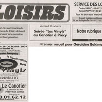 Loisir - 26 Octobre 2007