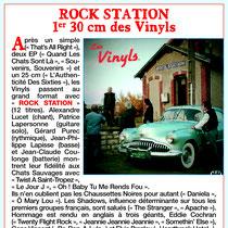 Les Vinyls - Rock Station - Jukebox Magazine 2018