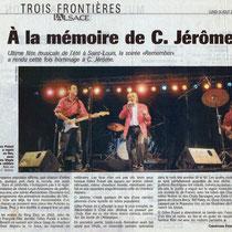 Les Vinyls - L'Alsace - 16 Août 2004