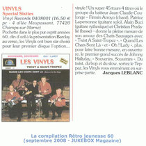 Article Jukebox Magazine - Septembre 2008