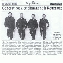 Les Vinyls - Reumaux - 17 Juillet 2004
