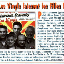 Les Vinyls - Jukebox Magazine - Octobre 2013