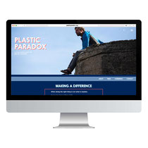webdesign voor de documentaire van de Plastic Soup Surfer [1]