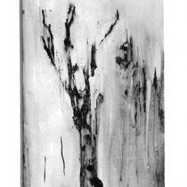 L'arbre mort - Techniques mixtes