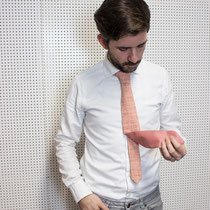 Schnittmuster Krawatte Bastian von  Claire Massieu