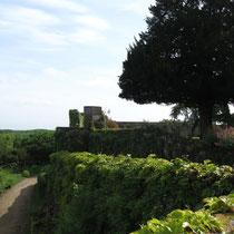 Schlossmauer Chateau Montreuil-Bellay