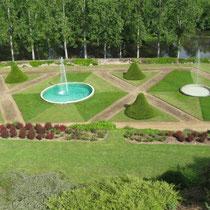 Schlossgarten Chateau Montreuil-Bellay