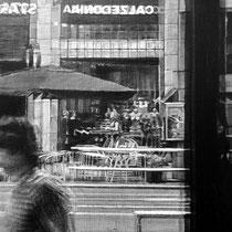 """""""Vistazo desde el interior / Glance from Inside"""". (Fragmento / Detail). Grafito sobre tabla / Graphite on board. 2015. 110x146 cm. Colección del MEAM (Museo Europeo de Arte Moderno)."""