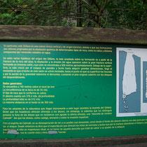 Informaciñón del Sótano de las Golondrinas