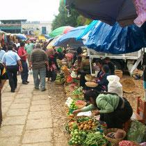 Mercado en Chiapas