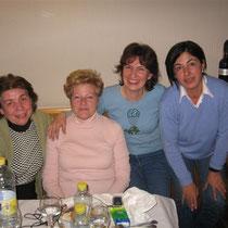 Patricia, Mercedes, Nelly et Puri (de gauche à droite)