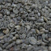 Kaffee, fermentiert und getrocknet vor dem Export bzw. vor dem Rösten