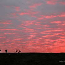 ...was im Sonnenuntergang dann so aussieht
