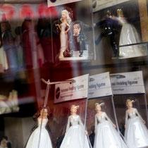 Viele Geschäfte bemühen sich um Brautpaare