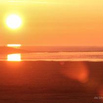 ein Blick aus unserem Fenster am frühen Morgen