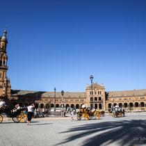 Plaza de Espana - Sevilla - Andalusien - (c) die Schnappschützen