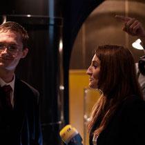 Unser nun ehemaliger Lehrling Pascal Neupar im Interview mit RTL-Exclusiv