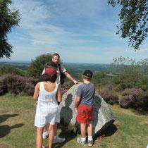 Balade Zoom paysage au Mont Gargan (Saint-Gilles-les-Forêts) : point sur la Résistance dont ce site était un lieu majeur avec le maquis du Colonel Georges Guingouin et la célèbre bataille de juillet 1944