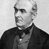 Prosper MÉRIMÉE (1803-1870), écrivain, historien et archéologue français, Inspecteur général des Monuments historiques en 1834 au service du gouvernement.