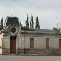 L'ancienne gare de tramway d'Eymoutiers (bourg)