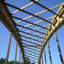 Détail de la structure du Pont du Dognon - Le Châtenet-en-Dognon