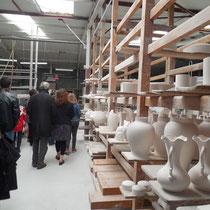 Visite de la manufacture de Porcelaine Carpenet - Route de Bujaleuf - Saint-Léonard-de-Noblat