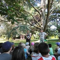 RDV aux jardins - Parc Jane Limousin - Châteauneuf-la-Forêt - Avec les scolaires - 2012