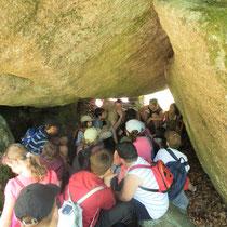 Balade Quenouille & le Chemin des Poètes (Peyrat-le-Château) : contes sous un chaos rocheux aux Roches Brunagères