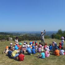 Balade Zoom paysage au Mont Gargan (Saint-Gilles-les-Forêts) : lecture de paysage sur ce site exceptionnel (panorama à 360 degrés)